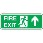 Safe Safety Sign - Fire Exit Door Up 115